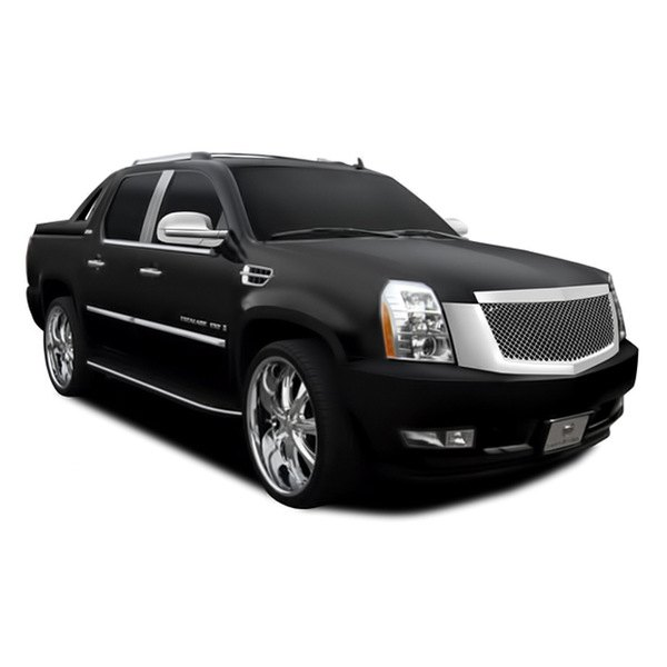 Used Cadillac Escalade Parts For Sale: Cadillac Escalade / Escalade ESV / Escalade EXT Base 2008 1-Pc Chrome Mesh Grille