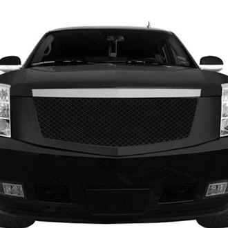 RI® - 1-Pc Gloss Black Mesh Grille