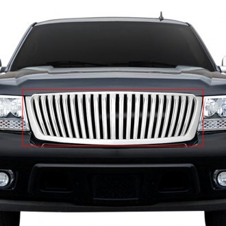 RI® - 1-Pc Chrome Vertical Billet Grille