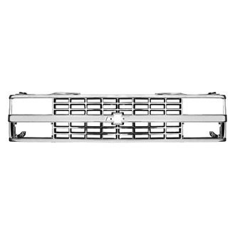 RI® - 1-Pc OE Style Chrome Billet Main Grille