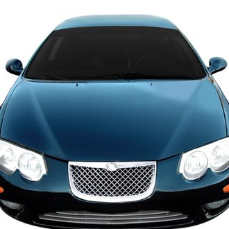 RI® - 1-Pc Bentley Style Chrome Mesh Main Grille