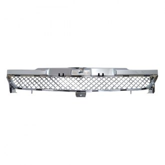 RI® - 1-Pc Bentley Style Chrome Mesh Bumper Grille