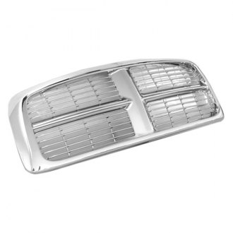 RI® - 1-Pc OE Style Chrome Horizontal Billet Main Grille