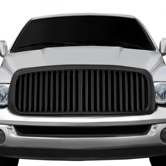 RI® - 1-Pc Black Thin Vertical Billet Main Grille