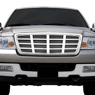"RI® - 1-Pc ""07 Escalade"" Style Chrome Billet Main Grille"