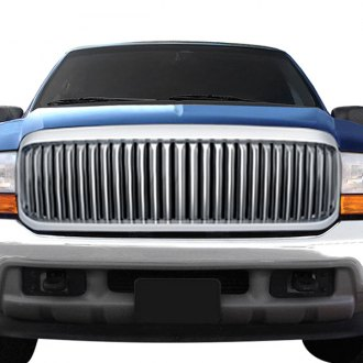 RI® - 1-Pc Chrome Thin Vertical Billet Main Grille