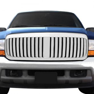 RI® - 1-Pc Chrome Vertical Billet Main Grille