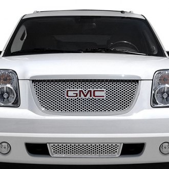 RI® - 1-Pc Denali Style Chrome CNC Machined Grille