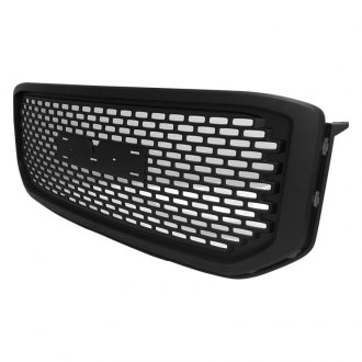 RI® - 1-Pc Denali Style Matte Black CNC Machined Main Grille