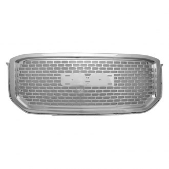 RI® - 1-Pc Denali Style Chrome CNC Machined Main Grille