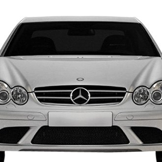 RI® - 1-Pc Silver/Chrome Billet Main Grille