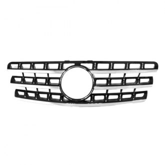 RI® - 1-Pc Black/Chrome Billet Main Grille