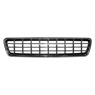 RI® - 1-Pc Checker Style Matte Black Billet Main Grille