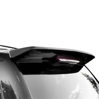 RI® - Custom Style Fiberglass Flush Mount Rear Roof Spoiler (Unpainted)