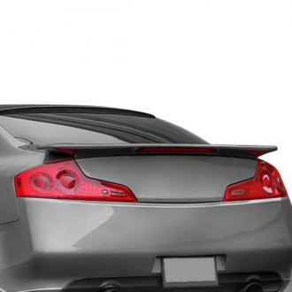RI® - Factory Style Flush Mount Rear Spoiler with Light (Unpainted)