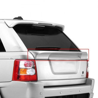 RI® - Custom Style Rear Lip Under Window Mount Spoiler (Unpainted)