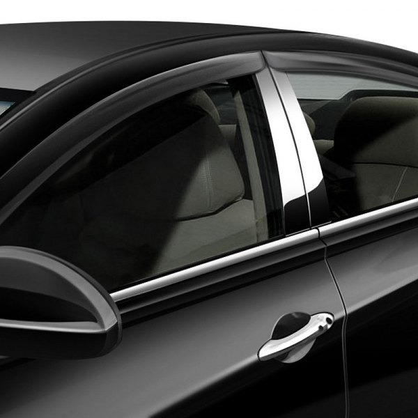 RI® - Tape-On Smoke Window Visors