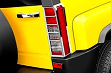 RI® - Tail Light Covers on Hummer H3