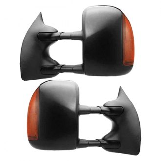 RI® - Driver and Passenger Side Black Towing Mirrors