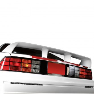 RI® - Factory Style Fiberglass Rear Spoiler with Light (Unpainted)