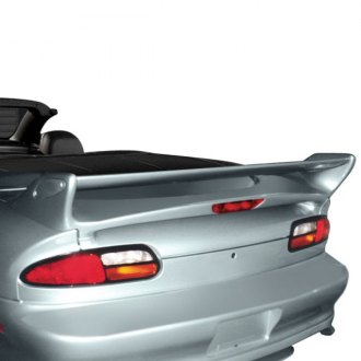 RI® - GT-Commando Style Fiberglass Rear Spoiler with Light (Unpainted)