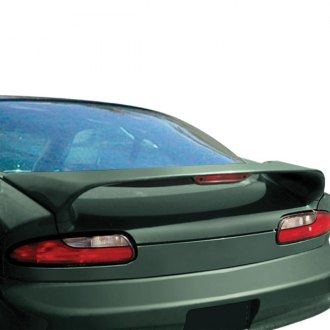 RI® - Hi-Wing Style Fiberglass Rear Spoiler with Light (Unpainted)