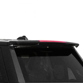 RI® - Custom Style Fiberglass Roofline Spoiler with Light (Unpainted)