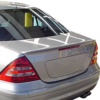 RI® - Factory C55 AMG Style Flush Mount Rear Spoiler (Unpainted)