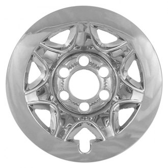 "RI® - 17"" Styled Steel Chrome Wheel Skins"