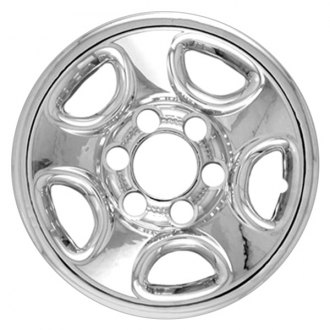 "RI® - 16"" 5-Flat-Spoke Chrome Wheel Skin"