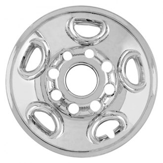 "RI® - 16"" 5-Flat-Spoke Chrome Wheel Skins"