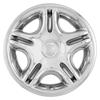 "RI® - 17"" 5-Split-Spoke Chrome Wheel Skins"