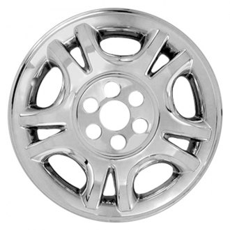 "RI® - 17"" 5 Split Spokes Chrome Wheel Skins"