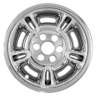"RI® - 15"" 5 Split Spokes Chrome Wheel Skins"