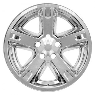 "RI® - 17"" 5 Spokes Chrome Wheel Skins"