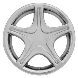 "RI® - 17"" 5-Star Chrome Wheel Skins"
