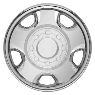 "RI® - 18"" 5-Flat-Spoke Chrome Wheel Skins"