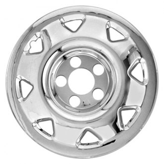 "RI® - 15"" 8-Triangle-Opening Chrome Wheel Skins"