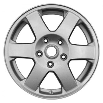 "RI® - 17"" 6-Spoke Chrome Wheel Skins"