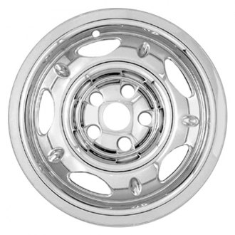 "RI® - 16"" 5-Dimpled-Spoke Chrome Wheel Skin"