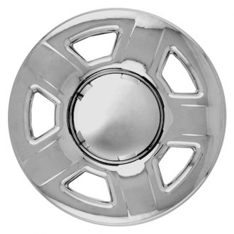 "RI® - 15"" 5 Spokes Chrome Wheel Skins"