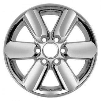 "RI® - 18"" 6 Spokes Chrome Wheel Skins"