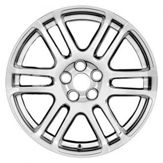 "RI® - 17"" 6-Split-Spoke Chrome Wheel Skins"