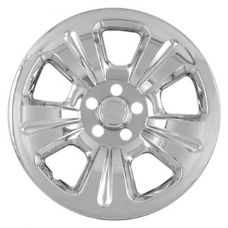 "RI® - 15"" 5-Dimpled-Spoke Chrome Wheel Skin"