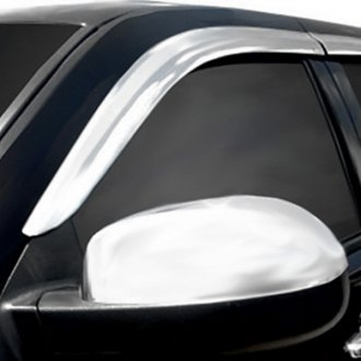 RI® - In-Channel Chrome Window Visors