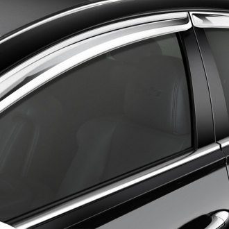 RI® - In-Channel Chrome Front Window Visors