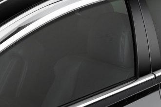 RI® - In Channel Style Chrome Window Visors