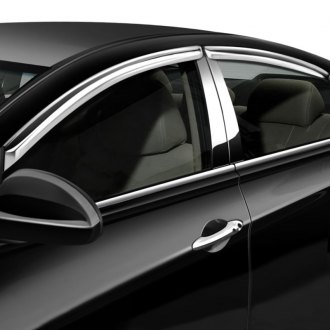 Image may not reflect your exact vehicle! RI® - In Channel Style Chrome Window Visors