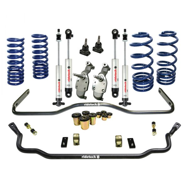 RideTech® - StreetGrip Front and Rear Handling Lowering Kit
