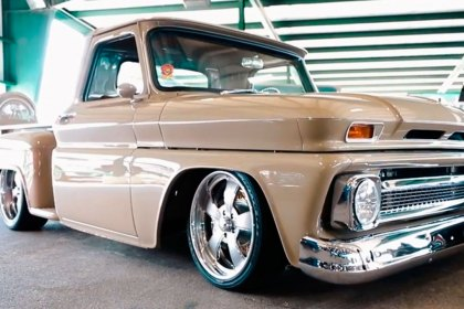 RideTech® 1966 Chevrolet C10 Pickup with Ridetech Air Suspension (HD)